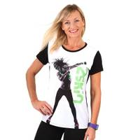 Koszulka damska, t-shirt, na fitness, do tańca TO THE BEAT 2skin