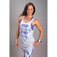 Koszulka, top sportowy, na fitness, do tańca MAGNETIC 2skin
