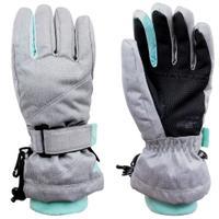Sportowe rękawiczki zimowe JRED002 szare 4F