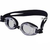 Okulary pływackie, korekcyjne, ujemna korekcja LUMINA black+grey