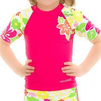 Koszulka dziewczęca, plażowa FLOWER Aqua-Speed