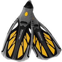 Płetwy kaloszowe, do snorkelingu INOX żółte Aqua-Speed