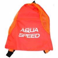 Worek na sprzęt pływacki, plecak, pomarańczowy Aqua-Speed