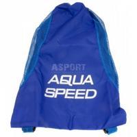 Worek na sprzęt pływacki, plecak, niebieski Aqua-Speed