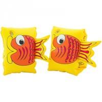 Dmuchane rękawki - motylki do pływania FISH 3-6lat żółte Aqua-Speed