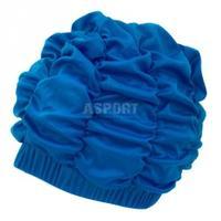 Czepek kąpielowy, damski, z podszewką SHOWER CAP niebieski Aqua-Speed