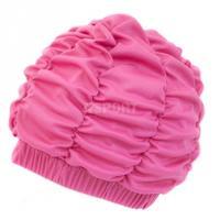 Czepek kąpielowy, damski, z podszewką SHOWER CAP różowy Aqua-Speed