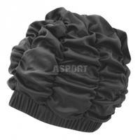 Czepek kąpielowy, damski, z podszewką SHOWER CAP czarny Aqua-Speed