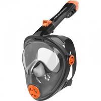 Maska do nurkowania pełnotwarzowa SPECTRA 2.0 KID czarna