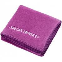 Ręcznik z mikrofibry DRY CORAL 50x100 cm ciemnoróżowy Aqua Speed
