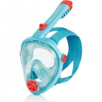 Maska do nurkowania pełnotwarzowa SPECTRA 2.0 KID turkusowa