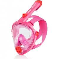 Maska do nurkowania pełnotwarzowa SPECTRA 2.0 KID różowa