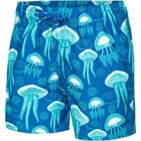 Szorty chłopięce pływackie FINN niebieskie Aqua Speed