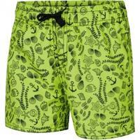 Szorty chłopięce pływackie FINN zielone Aqua Speed