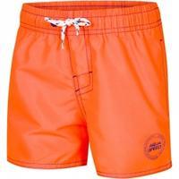 Szorty chłopięce pływackie LIAM pomarańczowe Aqua Speed