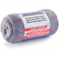 Ręcznik z mikrofibry DRY CORAL 50x100 cm szary Aqua Speed