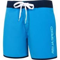 Szorty pływackie, spodenki chłopięcie EVAN JUNIOR niebieskie Aqua-Speed