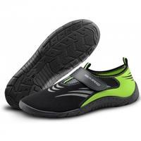 Buty do wody Obuwie plażowe czarno-zielone Aqua Speed