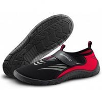 Obuwie na plażę Buty do wody czarno-czerwone 27D Aqua Speed