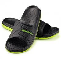 Klapki basenowe ASPEN czarno-zielone Aqua Speed