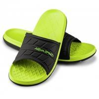 Klapki basenowe ASPEN zielono-czarne Aqua Speed