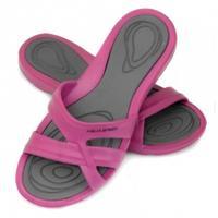 Klapki basenowe damskie PANAMA różowo-szare Aqua-Speed