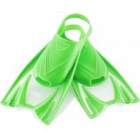 Dziecięce krótkie płetwy FROG zielone Aqua-Speed