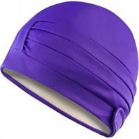 Czepek kąpielowy, damski, turban, z podszewką LADIES CAP fioletowy Aqua-Speed
