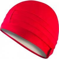 Czepek kąpielowy, damski, turban, z podszewką LADIES CAP czerwony Aqua-Speed