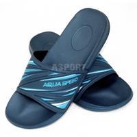 Klapki basenowe, na plażę IDAHO granatowo-niebieskie Aqua Speed