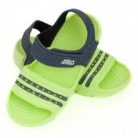 Obuwie basenowe, sandałki NOLI zielono-granatowe 24-29 Aqua Speed