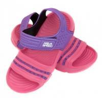 Obuwie basenowe, sandałki NOLI różowo-fioletowe 24-29 Aqua Speed