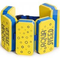 Pas wypornościowy KIDDIE 6-części żółty Aqua Speed