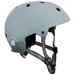 Kask ochronny na rolki, deskorolkę, rower VARSITY PRO szary K2