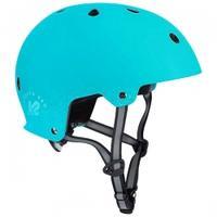 Kask ochronny na rolki, deskorolkę, rower VARSITY PRO jasnoniebieski K2