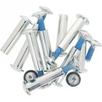 Śruba, oś do kół, do płozy aluminiowej 9 szt. Rollerblade