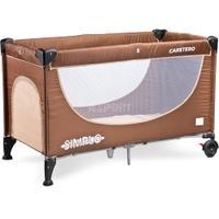 Łóżeczko dziecięce, turystyczne, składane, 0-15kg SIMPLO 2016 Caretero