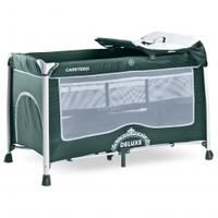 Łóżeczko dziecięce, turystyczne, aluminiowe, składane 0-15kg DELUXE Caretero