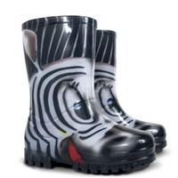 Kalosze dziecięce TWISTER PRINT zebra Demar