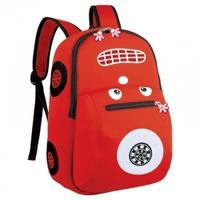 Plecak przedszkolny Easy Auto czerwony