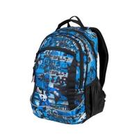 Plecak szkolny FLOW 26l czarno-niebieski Easy