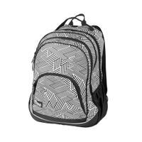 Plecak szkolny FLOW 26l czarno-biały Easy