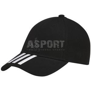 Sportowa, turystyczna czapka z daszkiem S98156 czarna Adidas