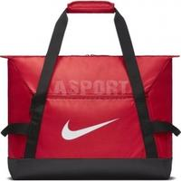 Torba sportowa, treningowa ACADEMY TEAM M DUFFEL 48l czerwona Nike