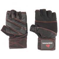 Rękawiczki treningowe, kulturystyczne, skóra syntetyczna GRIP 40 Meteor