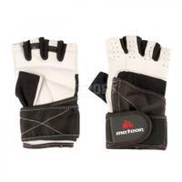 Rękawiczki treningowe, kulturystyczne, skóra syntetyczna GRIP 10 Meteor