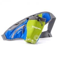 Saszetka biodrowa, na jogging, na rower, na rolki BUTTERFLY niebieska KingCamp