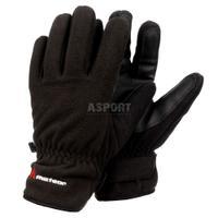 Rękawice narciarskie, zimowe, na co dzień WX 600 czarne Meteor