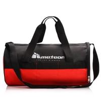 Torba fitness METEOR SIGGY 25L czarny/czerwony
