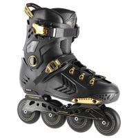 Łyżworolki slalomowe NA20002 czarno-złote NILS EXTREME